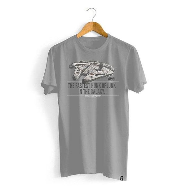 Imagem - Camiseta Star Wars - Millennium Falcon cód: VA105