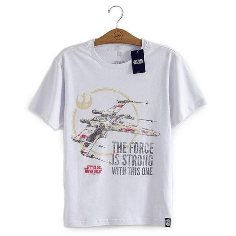 Imagem - Camiseta X-Wing - Star Wars - Masculina cód: VA152
