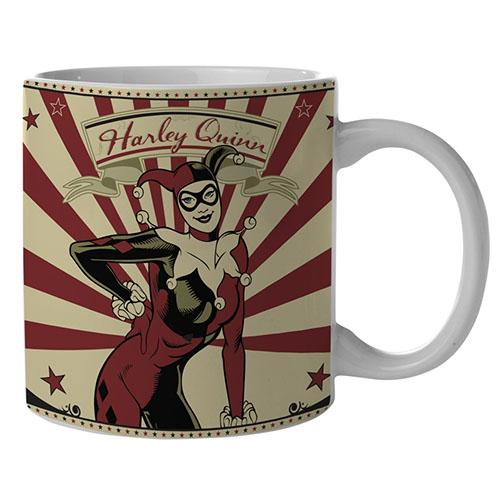Imagem - Caneca Arlequina / Harley Quinn - DC Comics cód: GC54
