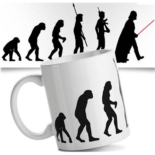 Imagem - Caneca Evolução Nerd - Geek Evolution cód: GC65