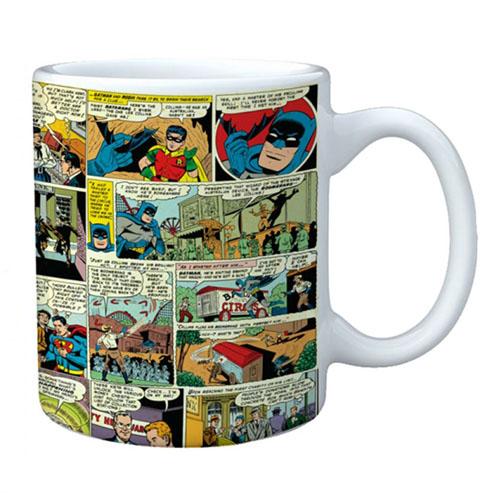 Imagem - Caneca Quadrinhos Coloridos Batman - DC Comics cód: GC58
