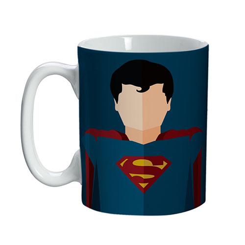 Imagem - Caneca / Xícara Superman / Super Homem Minimalista - DC Comics cód: GC56