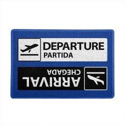 Imagem - Capacho de Vinil Viagem Aeroporto - Partida e Chegada cód: GB46