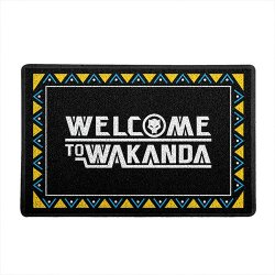 Imagem - Capacho de Vinil Welcome to Wakanda - Black Panther cód: GB45
