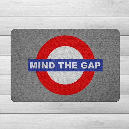 Imagem - Capacho Ecológico Londres - Mind the Gap cód: GB31