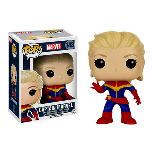 Imagem - Capitã / Captain Marvel - Funko Pop Marvel Universe Avengers cód: CC159