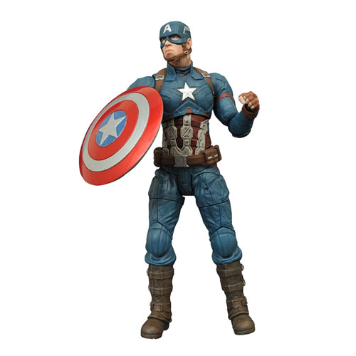 Imagem - Capitão / Captain America - Action Figure Marvel Select Civil War / Guerra Civil cód: CB153