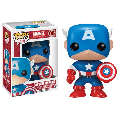 Imagem - Capitão América / Captain America - Funko Pop Marvel Universe Avengers cód: CC98