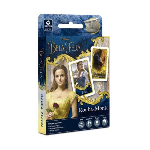 Imagem - Card Game Rouba-Monte A Bela e a Fera  - Copag Disney cód: JB41