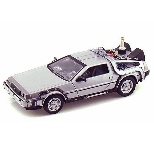 Imagem - Carro DeLorean Time Machine Back to the Future 2 - Miniatura 1:24 De Volta para o Futuro II cód: CF159