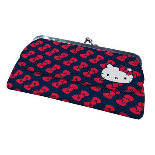 Imagem - Carteira Feminina Hello Kitty - Laços cód: AC41