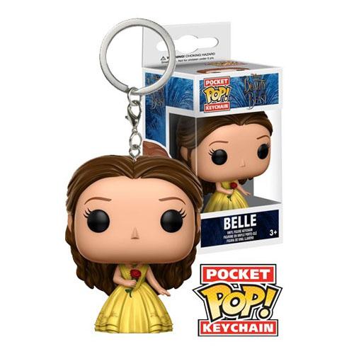Imagem - Chaveiro Belle - Funko Pop Pocket Disney A Bela e a Fera cód: CC270