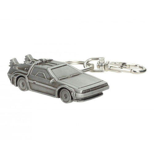 Imagem - Chaveiro de Metal DeLorean Back to the Future - De Volta para o Futuro - SD Toys cód: AB61
