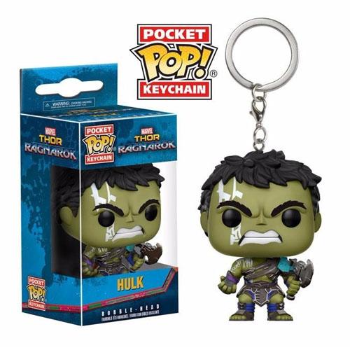 Imagem - Chaveiro Hulk - Funko Pop Pocket Thor Ragnarok cód: CC269