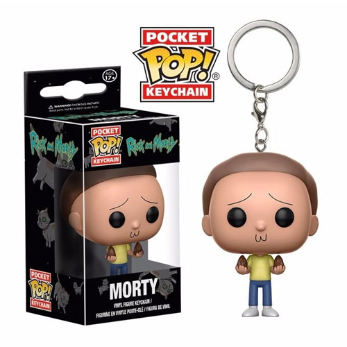 Imagem - Chaveiro Morty - Funko Pop Pocket Rick and Morty cód: CC253