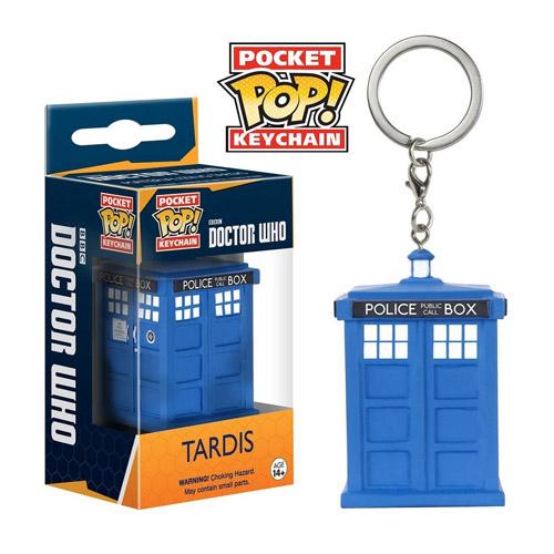 Imagem - Chaveiro TARDIS - Funko Pop Pocket Doctor Who cód: CC288