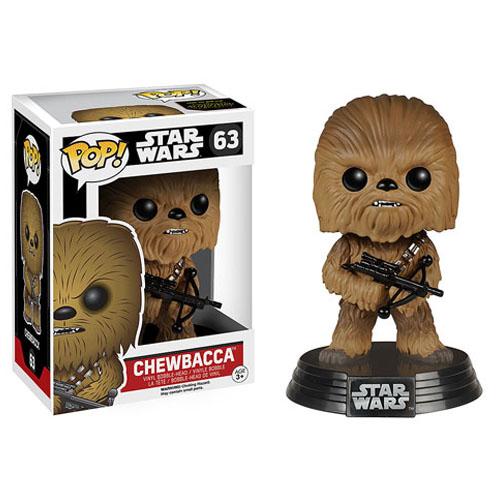 Imagem - Chewbacca - Funko Pop Star Wars The Force Awakens cód: CC82