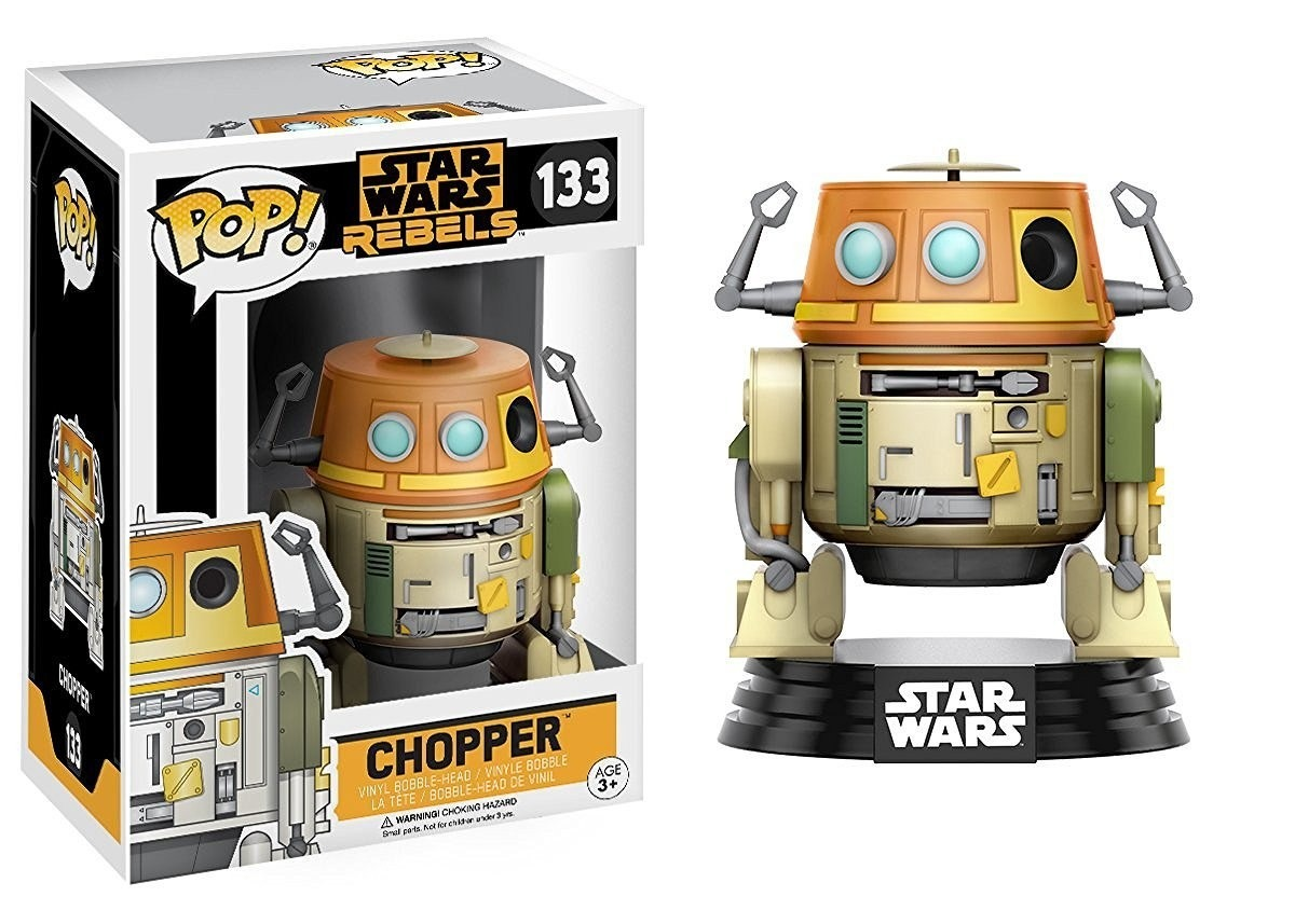 Imagem - Chopper - Funko Pop Star Wars Rebels cód: CC272