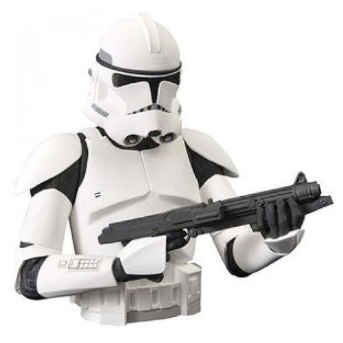 Imagem - Clone Stormtrooper - Cofre Star Wars - Diamond Select cód: CF84