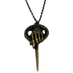Imagem - Colar Mão do Rei Game of Thrones em Metal cód: SP54