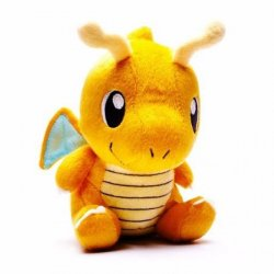 Imagem - Dragonite - Mini Pelúcia Pokémon cód: CD90
