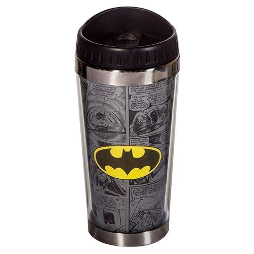 Imagem - Copo Térmico - Batman Logo - DC Comics cód: GA60