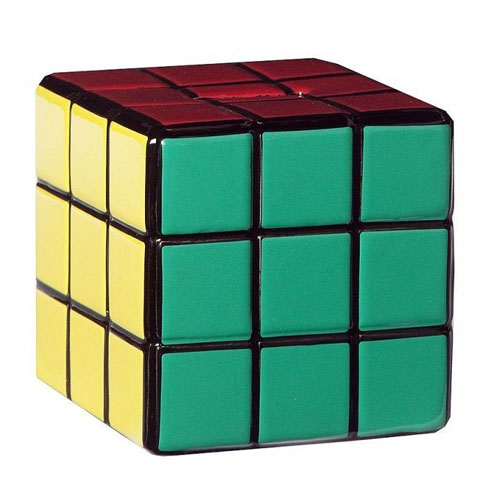 Imagem - Cubo Mágico - Cofre de Cerâmica Cubo de Rubik cód: CF146