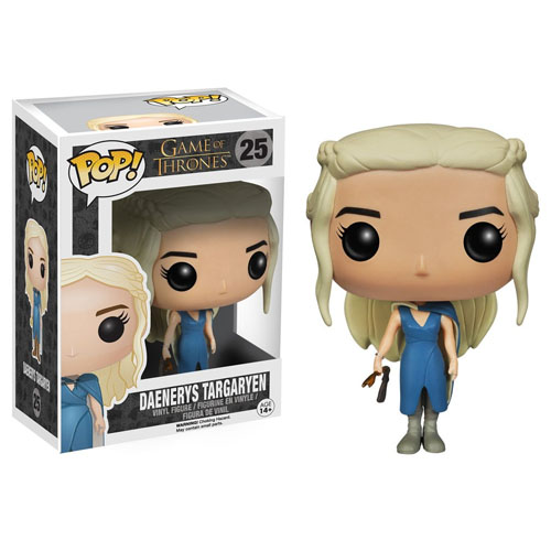 Imagem - Daenerys Targaryen / Mhysa Vestido Azul - Funko Pop Game of Thrones #25 cód: CC221