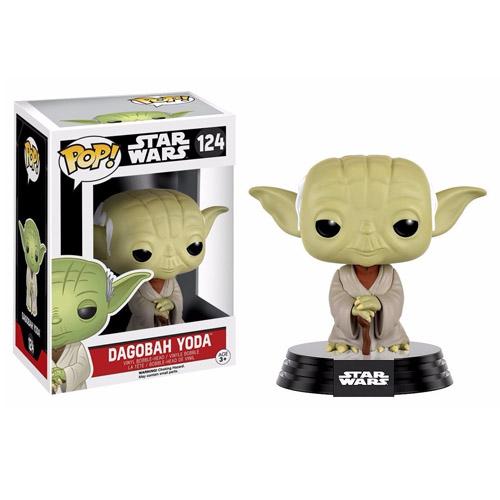 Imagem - Dagobah Yoda - Funko Pop Star Wars (124) cód: CC289