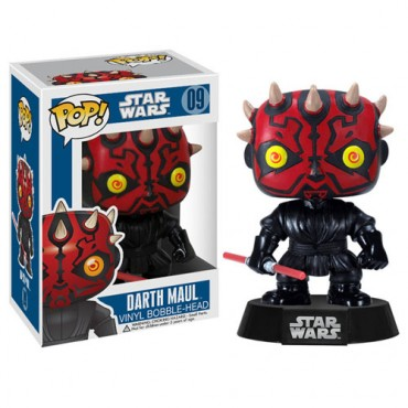Imagem - Darth Maul- Funko Pop Star Wars cód: CC71