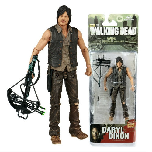 Imagem - Daryl Dixon - Action Figure The Walking Dead - McFarlane Toys cód: CB93