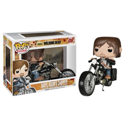 Imagem - Daryl Dixon na Moto / Daryl Dixon's Chopper - Funko Pop The Walking Dead Rides cód: CC137
