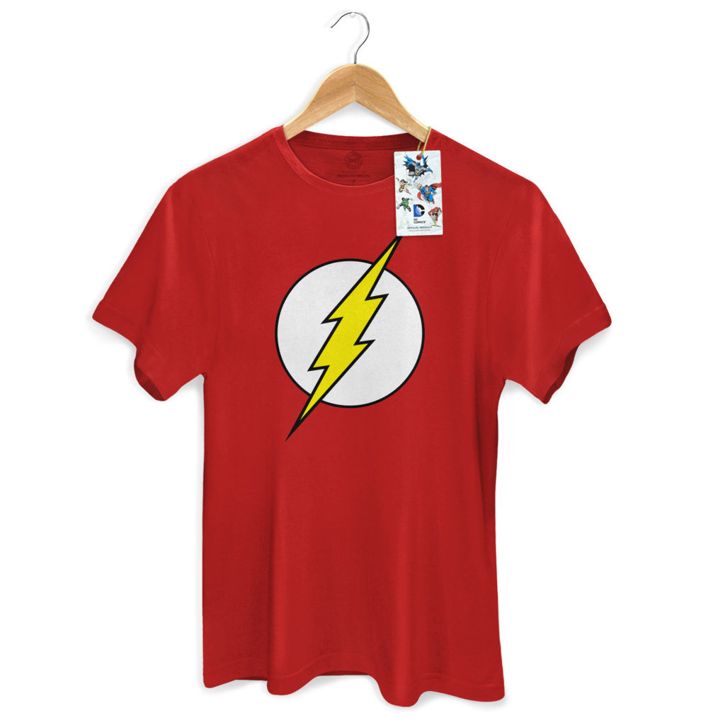 Imagem - Camiseta The Flash (Logo) - Masculina - DC Comics cód: VA124