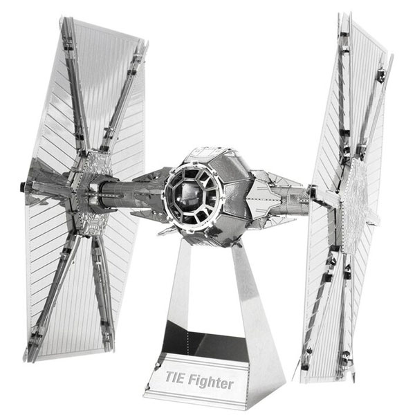 Imagem - TIE Fighter - Miniatura para Montar Metal Earth - Star Wars cód: CF58
