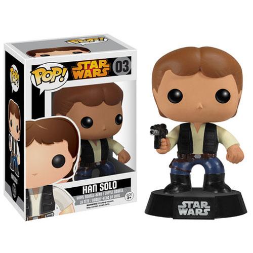 Imagem - Han Solo - Funko Pop Star Wars cód: CC68