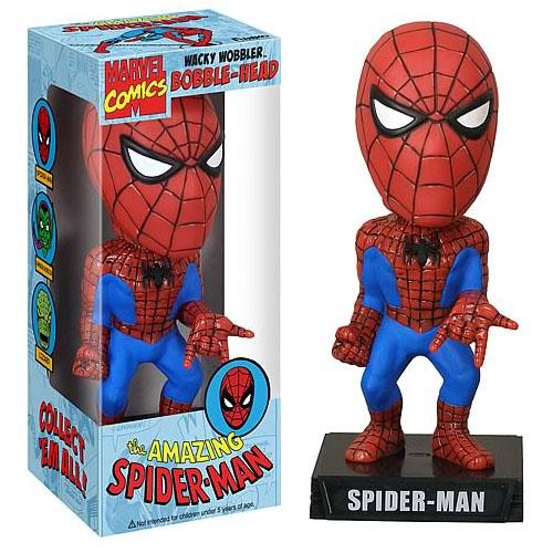 Imagem - Homem-Aranha / Spiderman Bobblehead - Funko Wacky Wobbler Marvel cód: CE44