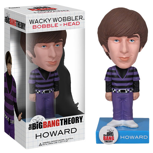 Imagem - Howard - The Big Bang Theory Bobblehead - Funko Wacky Wobbler cód: CE30