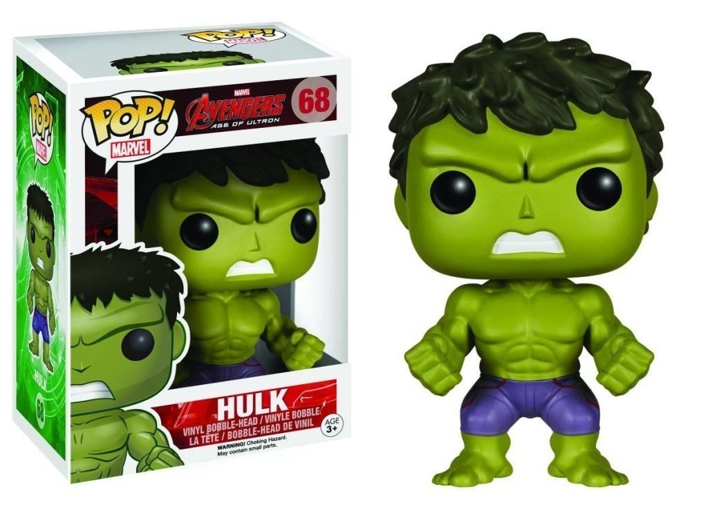 Imagem - Hulk - Funko Pop Avengers: Age of Ultron Marvel cód: CC39