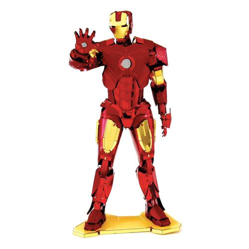 Imagem - Iron Man / Homem de Ferro - Miniatura para Montar Metal Earth - Avengers / Vingadores cód: CF165