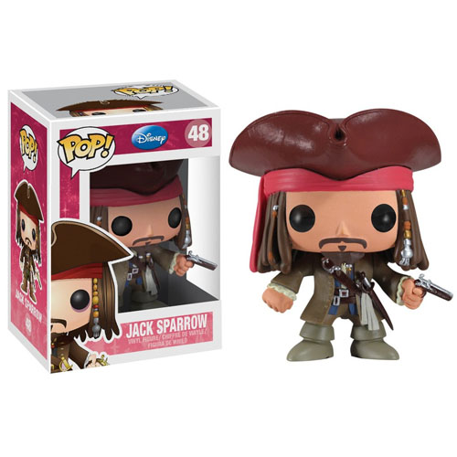 Imagem - Jack Sparrow - Funko Pop Piratas do Caribe / Pirates of the Caribbean cód: CC193