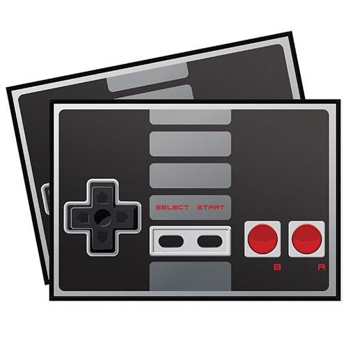 Imagem - Jogo Americano Gamer Joystick NES Retrô Preto cód: GA130