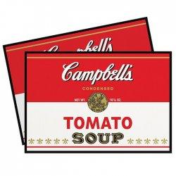 Imagem - Jogo Americano Sopa de Tomate - Campbells Tomato Soup cód: GA119
