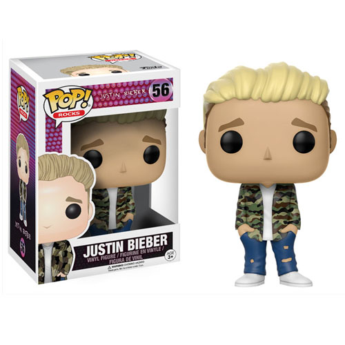 Imagem - Justin Bieber - Funko Pop Rocks Justin Bieber cód: CC226
