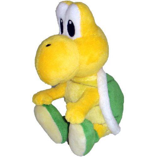 Imagem - Koopa Troopa  / Tartaruga Verde - Pelúcia Mario Bros - CD32
