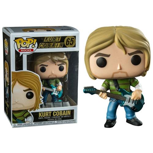 Imagem - Kurt Cobain - Funko Pop Rocks Nirvana cód: CC256