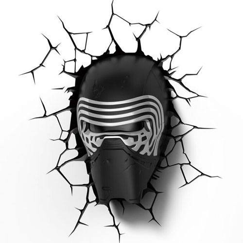 Imagem - Kylo Ren - Luminária 3D Light FX Star Wars cód: GD20