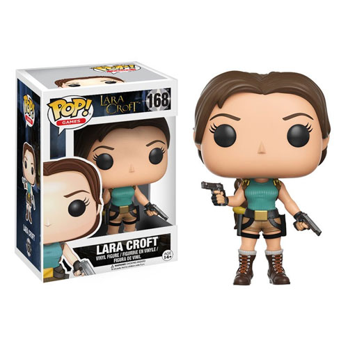 Imagem - Lara Croft - Funko Pop Games Tomb Raider cód: CC201