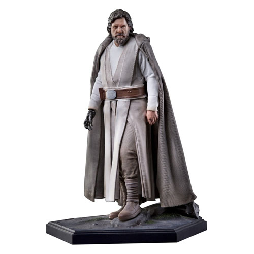 Imagem - Luke Skywalker Jedi Master - Star Wars Art Scale 1/10 - Iron Studios cód: CF176