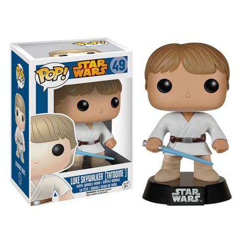 Imagem - Luke Skywalker (Tatooine) - Funko Pop Star Wars cód: CC195