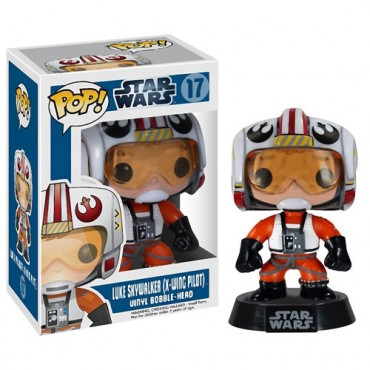 Imagem - Luke Skywalker X-Wing Pilot - Funko Pop Star Wars cód: CC73